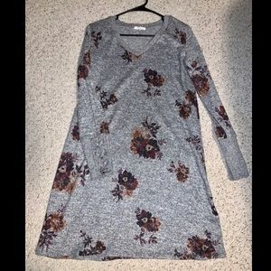 Maurices Gray Sweater Dress (women's M)